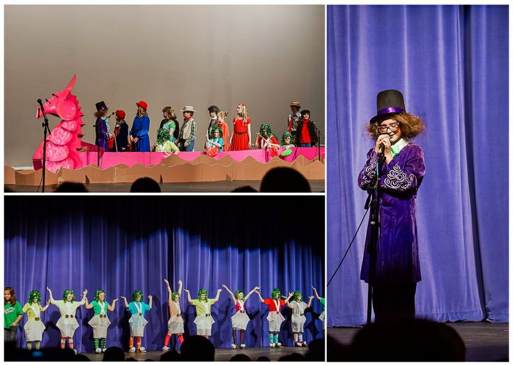 Charlie And The Chocolate Factory Elementary School Play