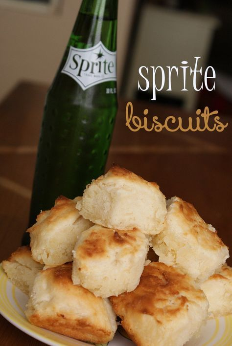 Recipe for baking simple and yummy biscuits with Sprite soda. These biscuits use only four ingredients and are ready in no time! They are perfect for breakfast, dinners, and yummy snacking in between.