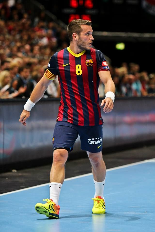 EHF Champions League 2014 Víctor Tomás