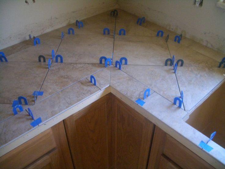 Granite Tile Kitchen Countertops best 25+ tiled kitchen countertops ideas on pinterest | butcher