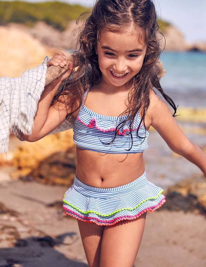 8104e751db Boden Pretty Bikini Set Little Girl Swimsuits, Little Girl Bikini, Bikini  Girls, Boden