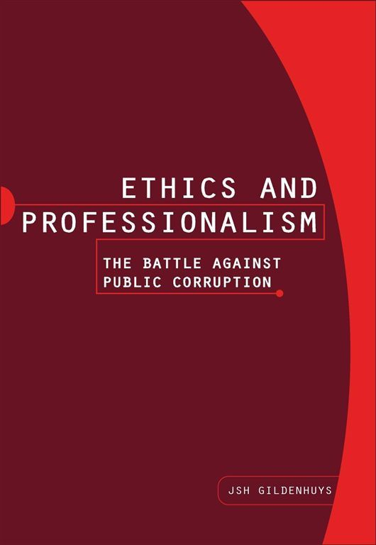 Ethics and Professionalism is essential equipment for such education. Having been constructed on the principles of knowledge progression and outcomes-based education, it sets out explaining the meaning of ethics and its importance for public officials.