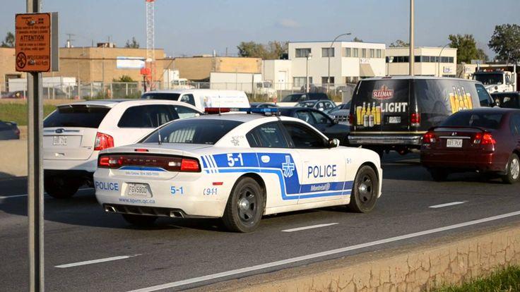 L'évolution des autos de police à Montréal