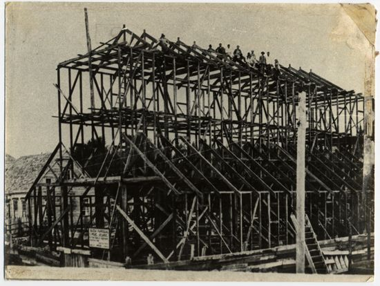 Construcción de iglesia