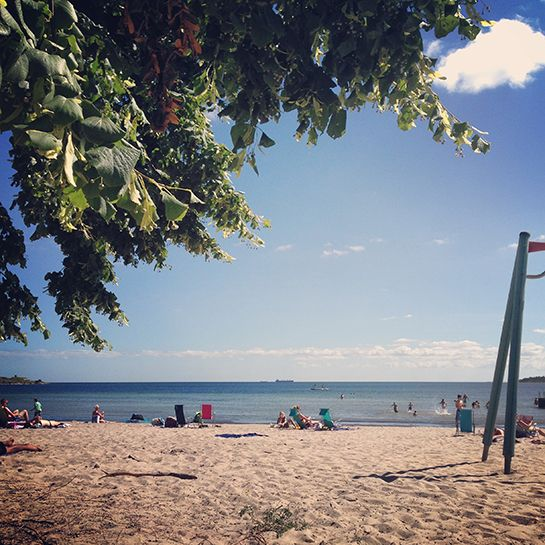 Slite strand – Gotlandstips.se #beach #ocean #sand #travel #gotland