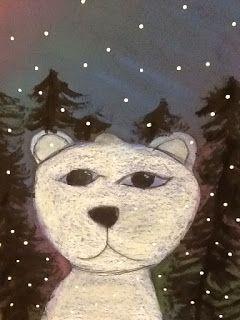A Glimmer of Light: Polar Bears amongst the Northen Lights