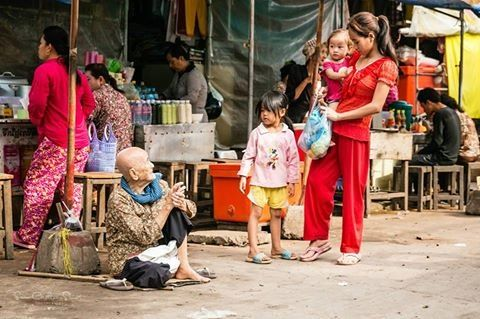 A moment captured in the Market, Siem Reap Cambodia ~ Susan Crichton-Stuart