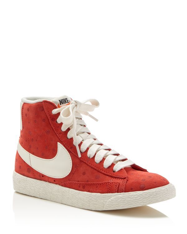 Nike Blazer Mid Mid Top Lace Up Sneakers