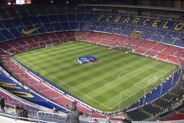Attraction for hubby: FC Barcelona Football Stadium Tour and Museum Tickets
