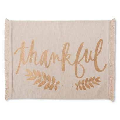 Threshold™ Thankful Placemat: