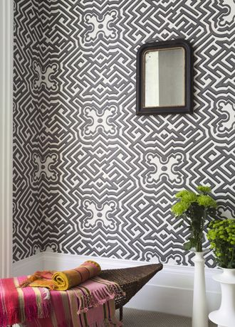 Palace Maze wallpaper from Cole & Son
