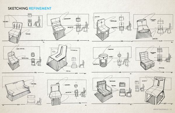 Novo | Minimalist Sofa on Behance.