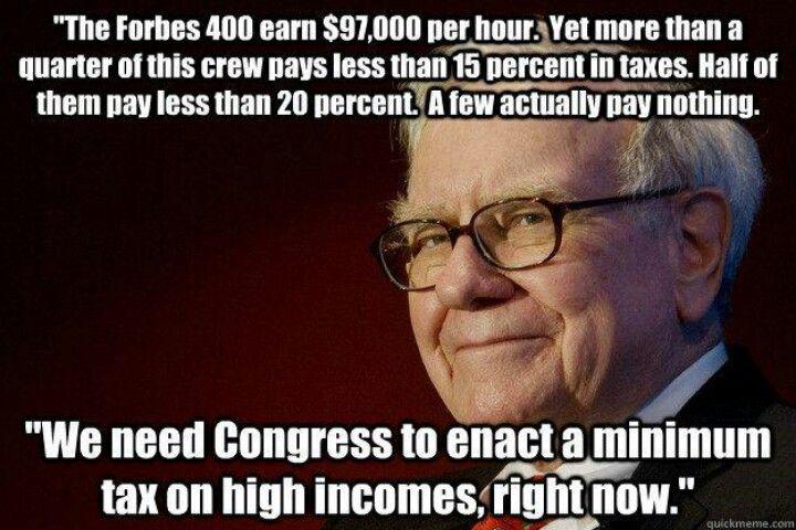 Warren Buffet!