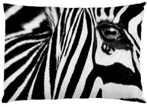 Zebra-Print-Pillow-Cases-Reversible-Black-And-White-Large-30-x20
