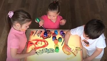 Kids Art, Play, Crafts-Activity Light Table, Board, Sand Game | Art & Plastic …   – Homeschool preschool