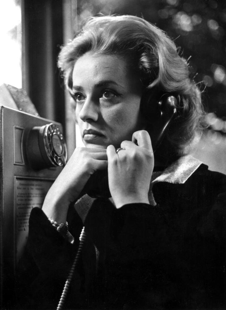 ASCENSEUR POUR L'ECHAFAUD, Jeanne Moreau, 1958
