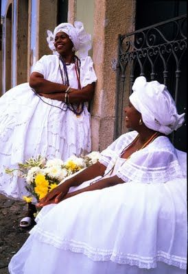 As lindas e tradicionais baianas de Salvador!!!