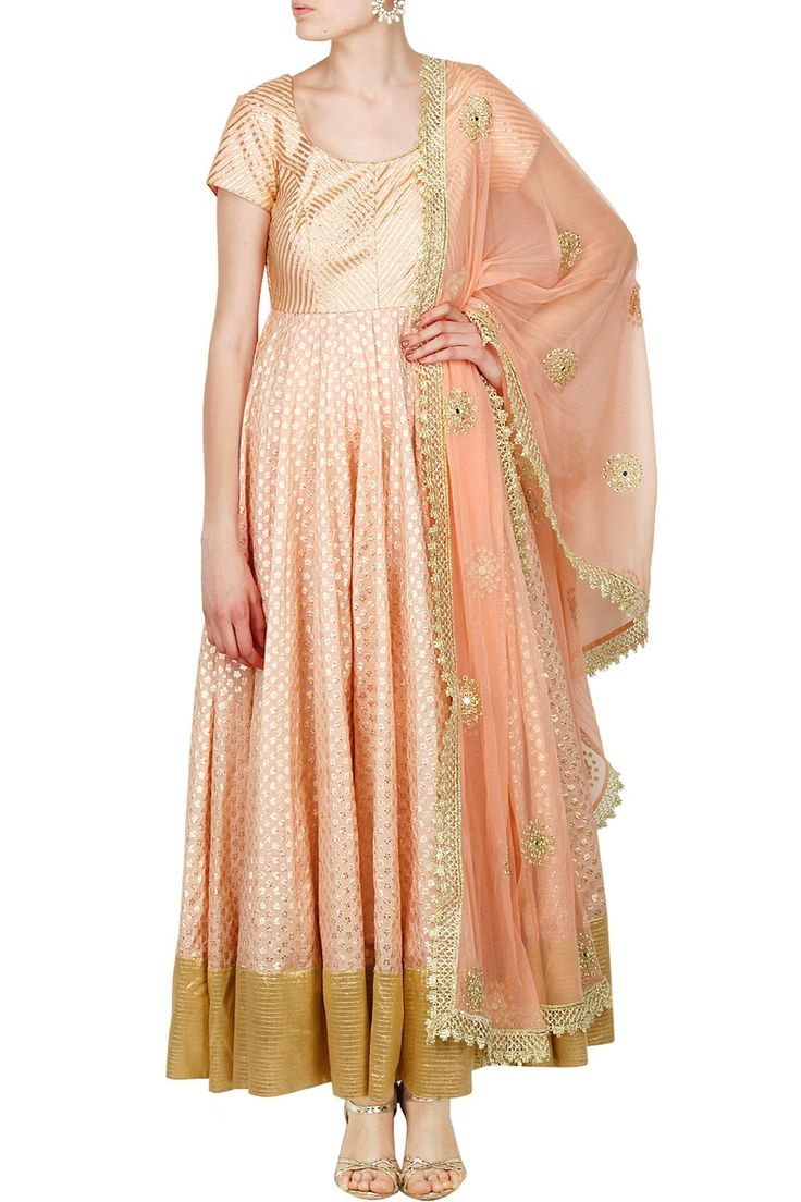 In off white to wear with wedding dupatta