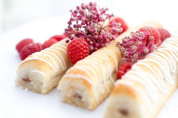 Danish marzipan cakes