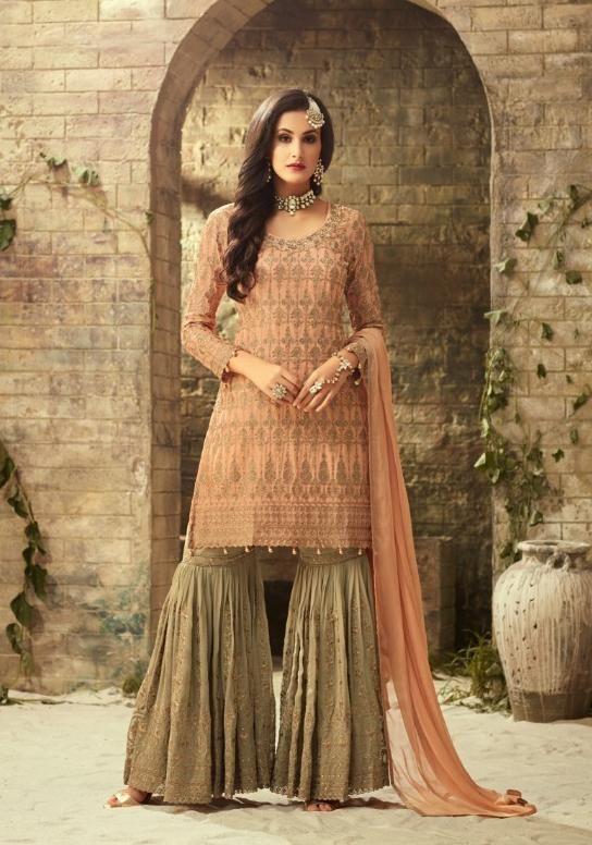 b70597af8c Mohini Fashion Designer Sharara Style Salwar Suit in 2019 | Burda ...
