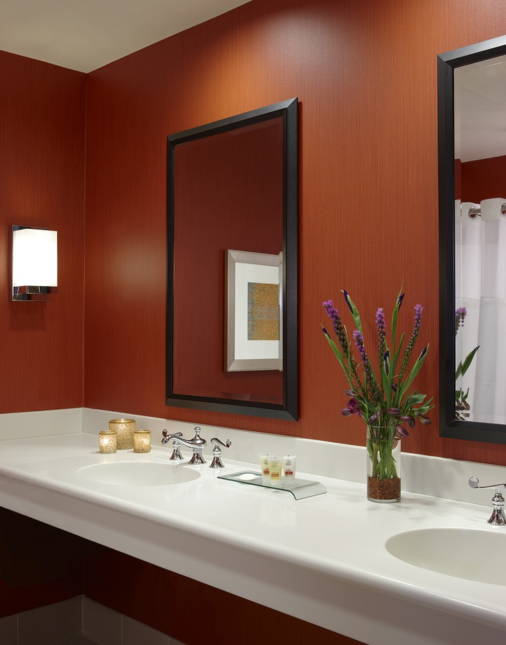 Vanity Outside Bathroom great cedar hotel deluxe room- bathrooms are equipped with a