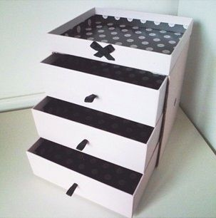 Check out these lovely set of Glossybox drawers made by @Laura Jayson Jayson Morrall. http://www.glossybox.co.uk/