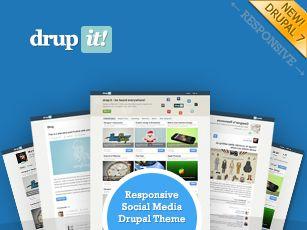 Drupit - Drupal Content Curation Theme, like Scoop.it :)