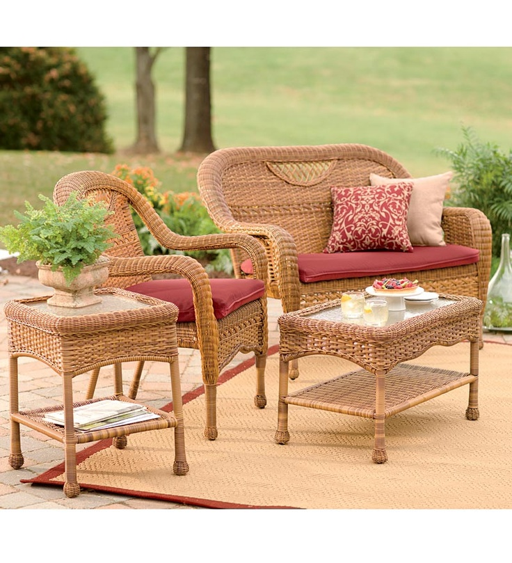 Prospect Hill Outdoor Resin Wicker Furniture Seating Collection