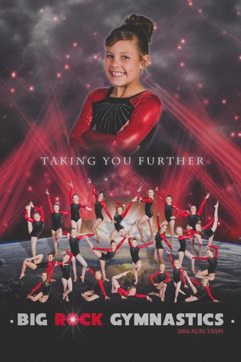 Gymnastics Team Poster Gymnastics Team Team Photography