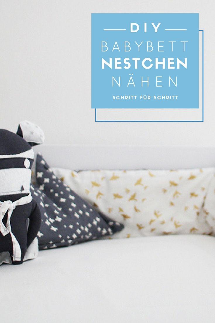 die besten 25+ nestchen für babybett ideen auf pinterest, Schlafzimmer