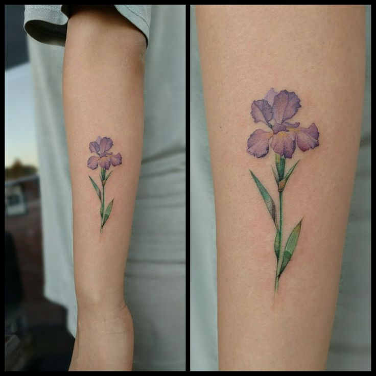 Solace gets this tattoo but on the back of her right leg