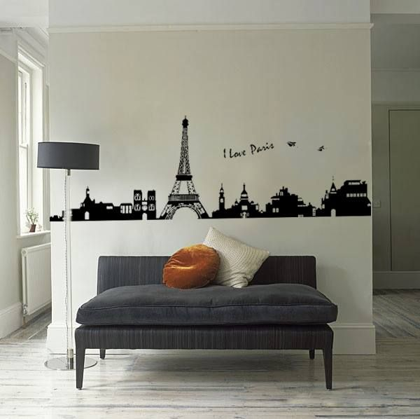 I LOVE PARIS Wall Art Decals, own private vision of the Paris without leaving the room. $29.99 at Inspired design