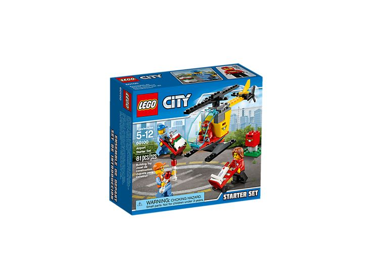 Buy LEGO CITY Airport Starter Set NEW RELEASE 2016 for R229.00