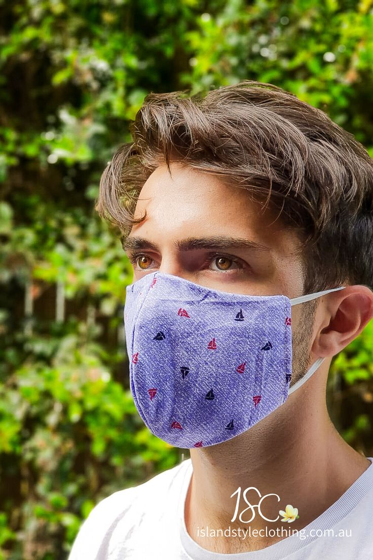 Reusable Cotton Face Mask Washable 3 Layers Quirky Fabric