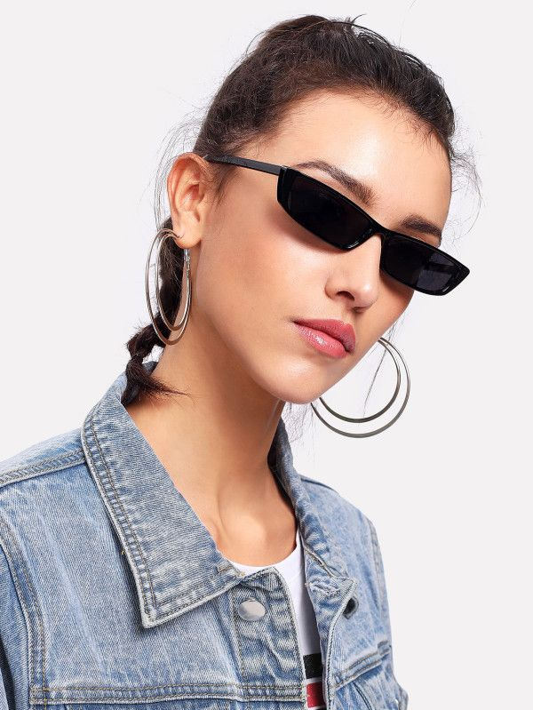20ecf153de Flat Lens Sunglasses -SheIn(Sheinside)