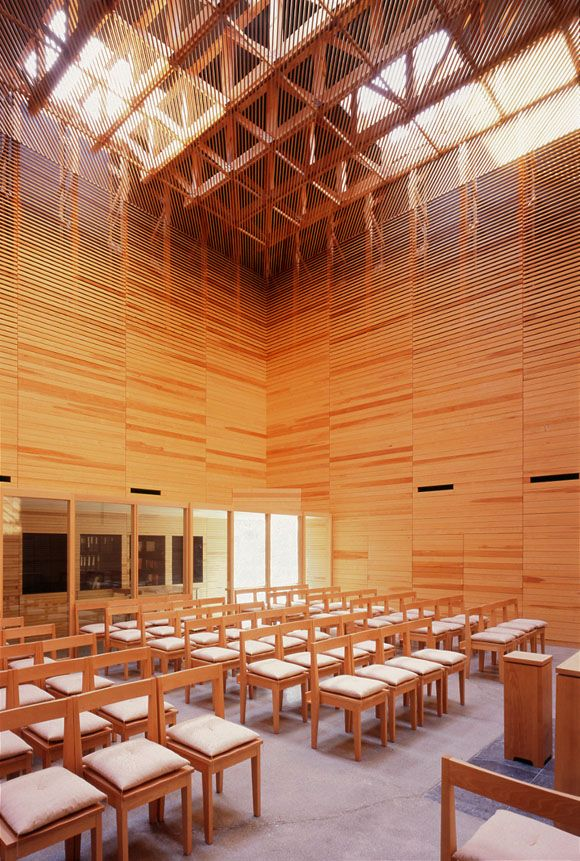 Church Sun-pu by Taira Nishizawa Architects ©Shinkenchiku-sha