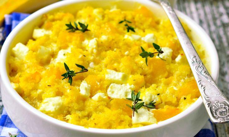 Buttercup Squash and Couscous.