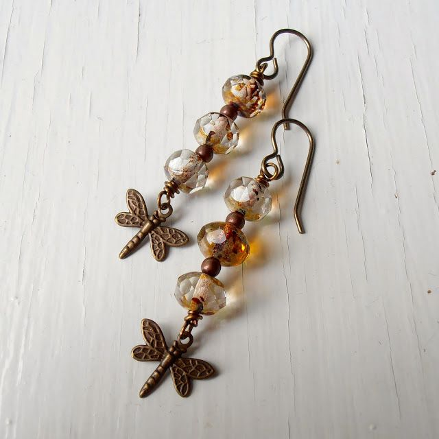 Brincos FLY EAST de REBECCA ANDERSON - Songbeads: More new jewellery!- Junho 13