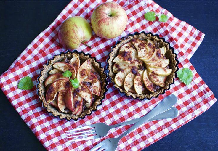 Sunde mini æbletærter