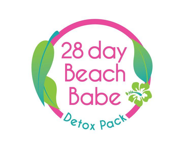 Beach Babe Detox Pack - 28 Days
