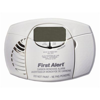 First Alert CO4106A Battery Powered Electrochecmical Carbon Monoxide Alarm with Digital Display