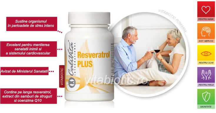 Resveratrol Calivita pret prospect. Contine coenzima q10 si extract din samburi de struguri. Administrare, beneficii si indicatii de consum resveratrol