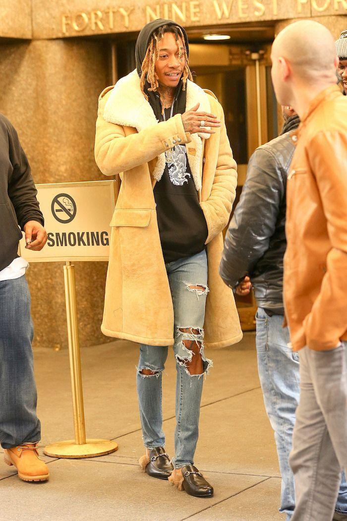 Men's Fashion Flash: Wiz Khalifa's NBC Studios Balmain Fall 2011 ...