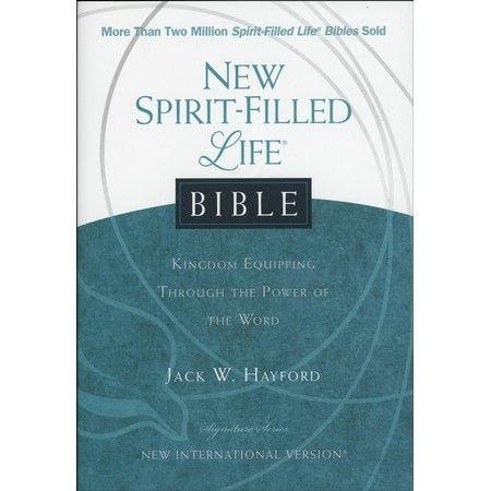 New Spirit-Filled Life Bible-Hardcover (NIV)