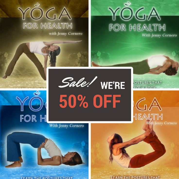 11 best YOGA FOR HEALTH with Jenny Cornero images on Pinterest ...