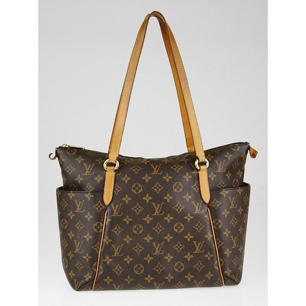 Pre-owned Louis Vuitton Monogram Canvas Totally MM Bag ($795) ❤ liked on Polyvore featuring bags, handbags, tote bags, louis vuitton purse, lightweight tote, handbags totes, monogrammed canvas tote bags and louis vuitton tote