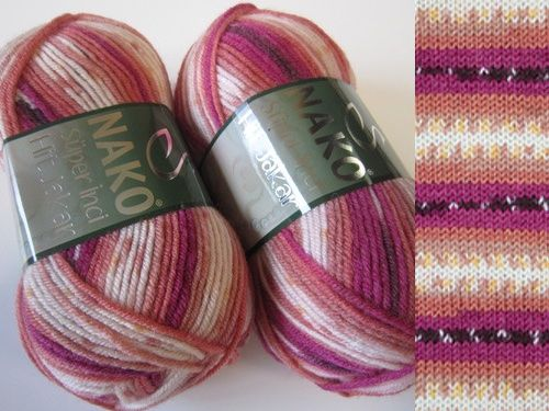 This yarn will be perfect for those who just like to knit and the thread is making it's own pattern. Needle size 5-6mm, almost bulky type of yarn. Yarn is made in Turkey. Specification Brand Nako Price €2.58 Composition wool 25% premium acrylic 75% Weight(grams) 100 grams Length (metres) 180 metres www.yarnstreet.com