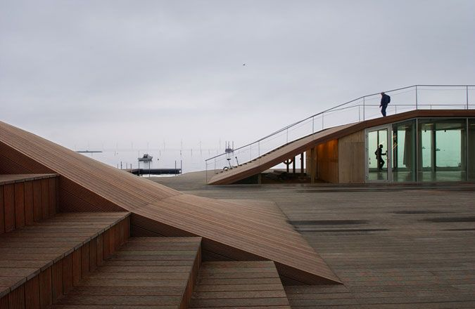 Maritime Youth House, Amager Strand,Copenhagen by JDS Architects + BIG - Bjarke Ingels Group