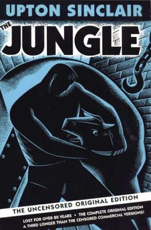 The Jungle: about Chicago stockyards and the poor immigrants and their awful conditions. This later led to improved working conditions, laws and improved health regulations regarding workers.