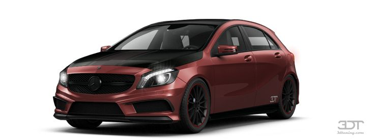 Tuning Of Mercedes A class Hatchback 2013 - 3DTuning